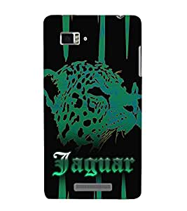 Jaquar Cheeta Art 3D Hard Polycarbonate Designer Back Case Cover for Lenovo Vibe Z K910