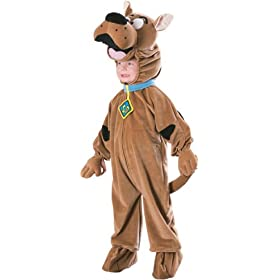 Scooby Doo Deluxe Fleece Fancy Dress Costume