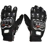 Benjoy Pro Biker Bike Riding Full Gloves (Size XXL ,Colour BLACK) For Honda Dream Neo