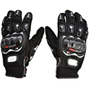 Benjoy Pro Biker Bike Riding Full Gloves (Size M ,Colour BLACK) For Honda Dream Neo