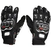 Benjoy Pro Biker Bike Riding Full Gloves (Size XXL ,Colour BLACK) For Bajaj Pulsar 200 NS DTS-i