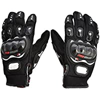 Benjoy Pro Biker Bike Riding Full Gloves (Size XL ,Colour BLACK) For Honda Dream Neo
