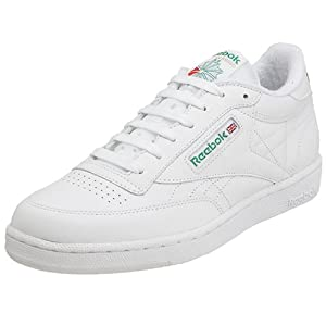 Reebok Men's Club C Sneaker,White,9.5 M