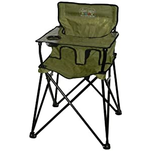 ciao! baby Portable Highchair, Sage images