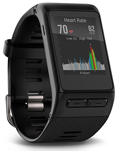 Garmin vívoactive HR GPS Smart Watch, X-large fit - Black