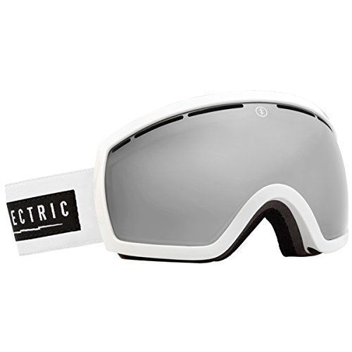 Electric Visual Eg2.5 Unisex Spherical Goggles, Gloss White/Bronze/Silver Chrome, One Size