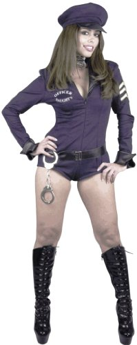 Naughty Police Officer Costume Outfit Size: Women's Large 11