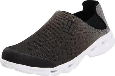 (狂降)哥伦比亚Columbia Men's Drainmaker Slip Water户外减震朔溪鞋黑白,$38.49