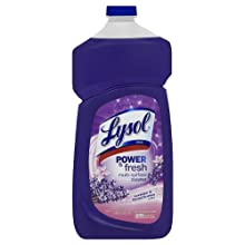Lysol All Purpose Power & Fresh Multi-Surface Cleaner Concentrate, 40 Ounces (Case of 9)