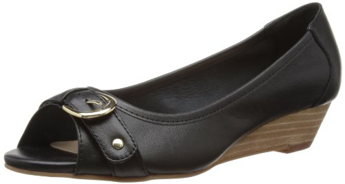 Lotus Womens Bizma Peep-Toe 50302 Black 4 UK, 37 EU