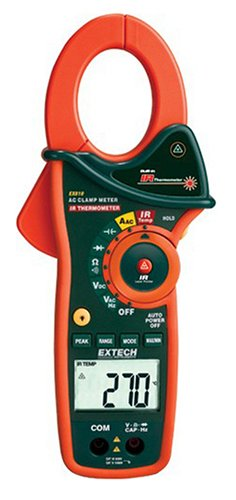 Extech Ex810 1000 Ampere Clamp Meters With Infrared Thermometer