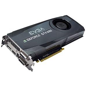 EVGA GeForce GTX680 SuperClocked 2048MB GDDR5, DVI, DVI-D, HDMI, DisplayPort, 4-way SLI Ready Graphics Card Graphics Cards 02G-P4-2682-KR