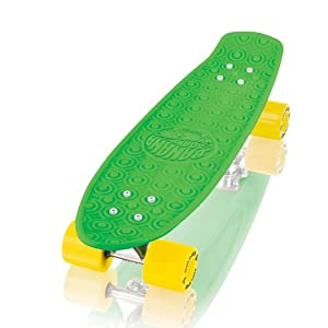 Gold Cup Banana Board Cruzer, Green, 5.8-Inch x 23.25-Inch