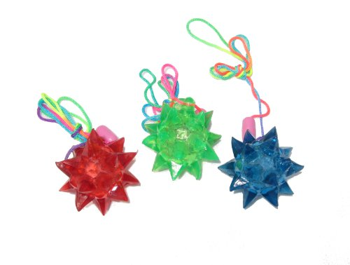 WeGlow International Crystal Star Necklace (12 pieces)
