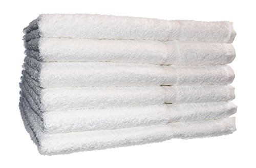 36 new premium hand towels titan soft 3# per dozen 16x27 cotton blend absorbent