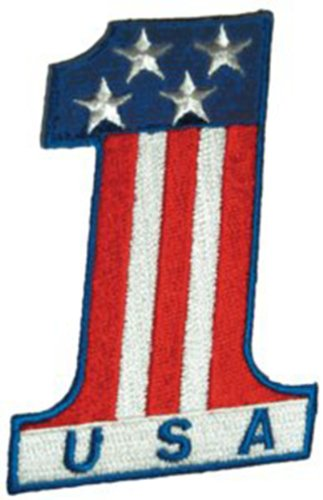Application Number One USA Patch