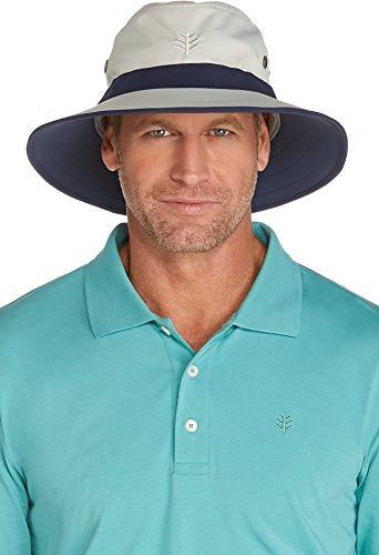 507cee33 Coolibar UPF 50+ Men's Matchplay Golf Hat - Sun Protective | Hat Outlet Sale