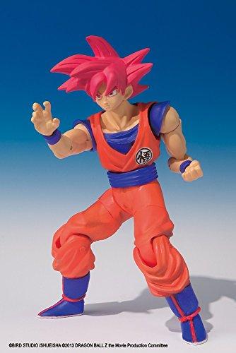 "Dragonball Z Shodo Bandai 3"" Figure - Super Saiyan God Son Goku"