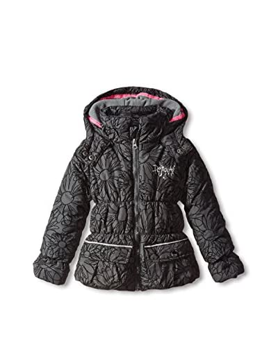 Desigual Kid's Printed Puffer Jacket with Hood