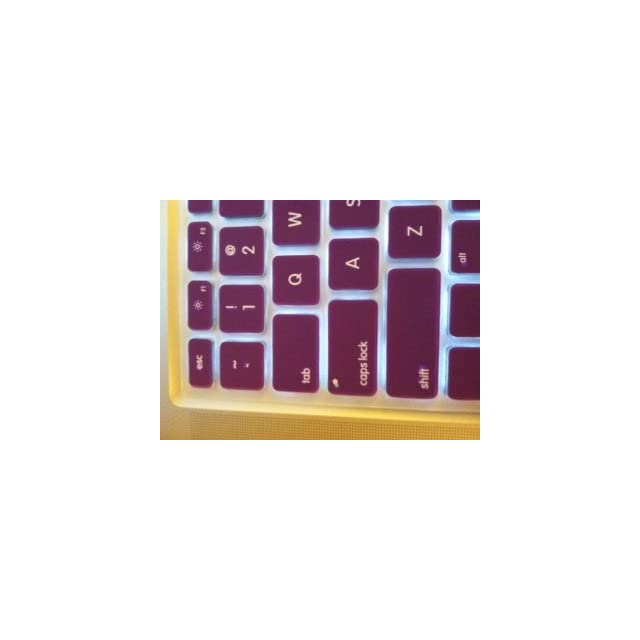 TopCase® PURPLE Keyboard Silicone Cover Skin for Macbook 13 Unibody / Macbook Pro 13 15 17 with or without Retina Display+ TOPCASE® Mouse Pad