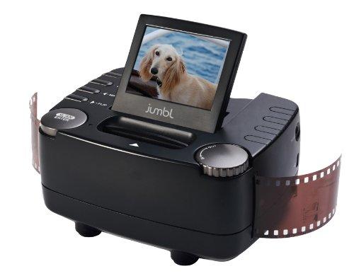 41J6UYOplgL. SL500  Jumbl 35mm Film Slide and Negative Scanner   10 Mega Pixel Film to Digital Image Converter   with 2.4 Inch LCD and TV Out