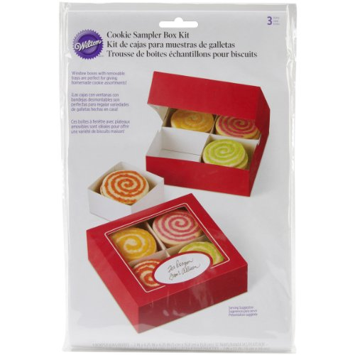 Wilton 415-1894 Sweets and Treats Cookie Sampler Box Kit ...