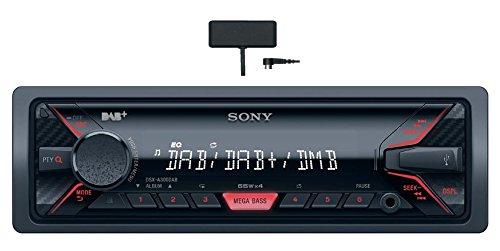 Sony DSX-ADAB300KIT Autoradio inkl. DAB+ Antenne (AUX-Eingang, USB) mit Apple iPod Control, Mega Bass 2 und 4 x 55 W