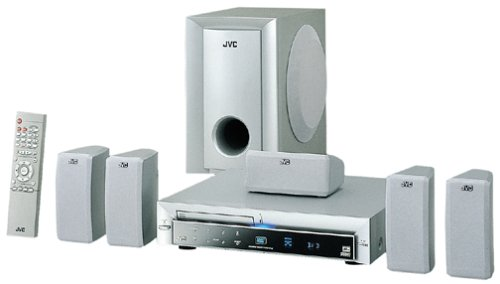 JVC THA5 Home Theater System (Silver)