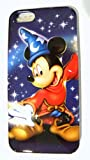 Disney D-tech World WDW Parks Authentic Sorcerer Mickey Hollywood Studios Iphone 5 Phone Hard Case & Screen Guard Cleaning Cloth & Bonus Disney Dollar