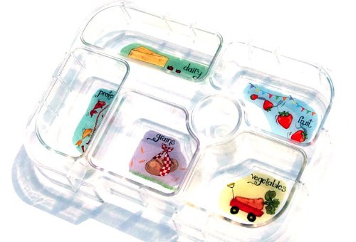 yumbox leakproof bento lunch box container pomme green t. Black Bedroom Furniture Sets. Home Design Ideas