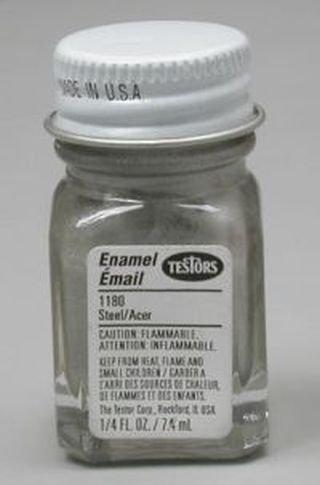 Steel Testors Enamel Plastic Model Paint - Import It All