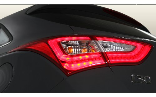Hyundai Motors Genuine Rear Led Tail Lights Lamp Assembly 4-Pc Set For 2012 2013 2014 Hyundai Elantra Gt : I30
