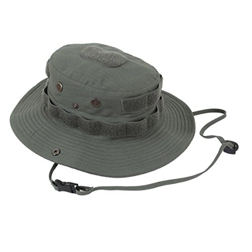 Mens Military Hat - Boonie Hat Tactical RipStop, Olive Drab, 7.25 by Rothco Olive Drab Branch