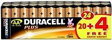 Comprar Duracell Plus - Pilas AA (Paquete de 20 + 4 gratis)
