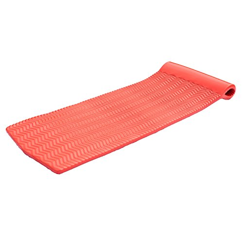 TRC Recreation Pool Float Serenity Ripple, Caribbean Coral