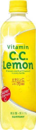 サントリー C.C.レモン 500ml×24本