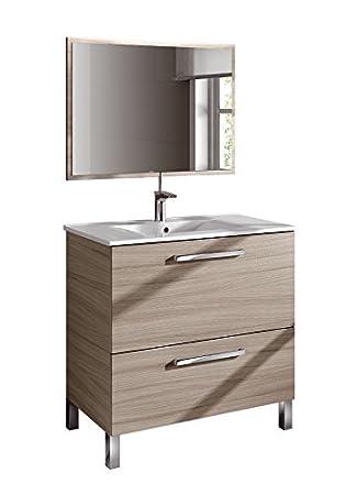 Vanity Basin + Mirror +