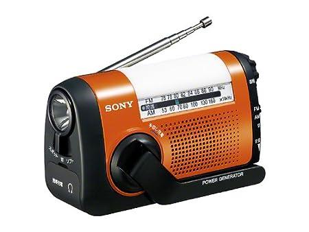 SONY FM/AMポータブルラジオ ICF-B08/D オレンジ