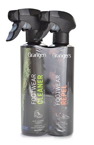 Granger's Footwear Cleaner & Footwear Repel Combo Pack (Boots Footwear)