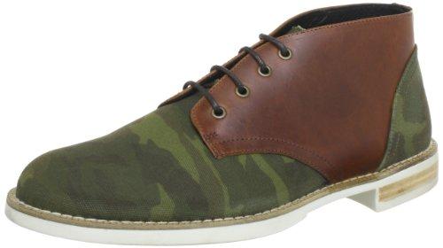 Swear London CHAPLIN10C, Stivaletti uomo, Verde (Grün (GREEN CAMO CANVAS/WHITE SOLE)), 42