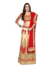 Yepme Women's Multi-Coloured Blended Lehengas - YPMLEHG0099_Free Size