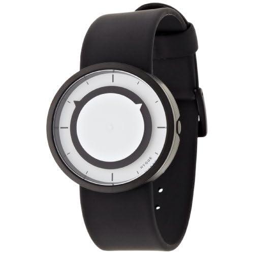 [ヒュッゲ]HYGGE 腕時計 3012-WHITE/BLACK POS+ [ポスト] MSP3012BC(BK)  【正規輸入品】
