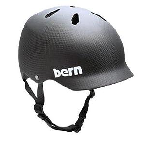 Bern Watts Summer EPS Helmet, Carbon, Medium