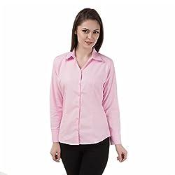 Shoprillo Women's formal & Casual Poly Cotton Shirts SHIRTS_FS_703_3XL