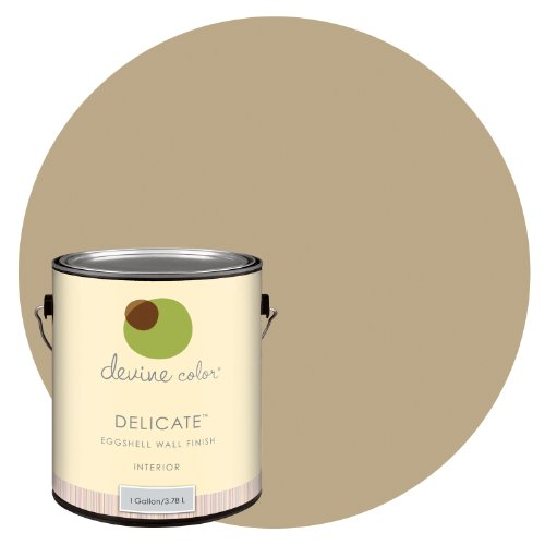 Devine Hazelnut, Espresso Blends Collection, Devine Color Interior Paint, Delicate Eggshell, 1-Gallon