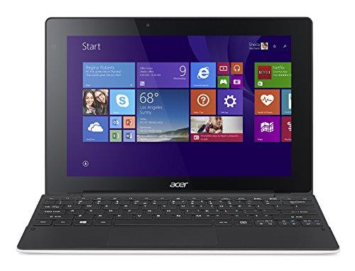 "Acer Aspire Switch 10 E - SW3-013 Portatile, Display 10.1"", Processore Intel Atom Z3735, RAM 2GB, HDD da 32 eMMC, Scheda Grafica Intel HD Graphics 3D Accelerator, Bianco"