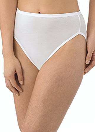 Jockey Women's Underwear Supersoft French Cut - 3 Pack, white, 5