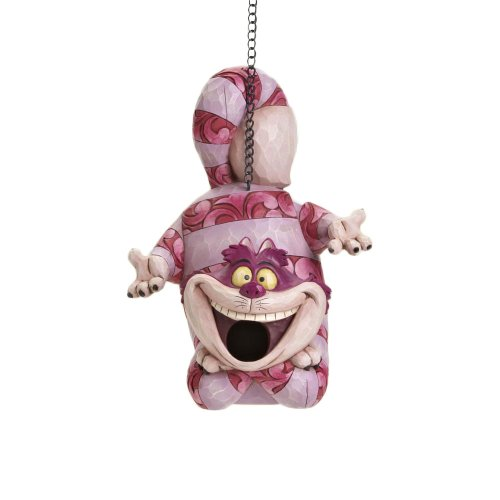 Disney Traditions designed by Jim Shore for Enesco Cheshire Cat Birdhouse 10 IN