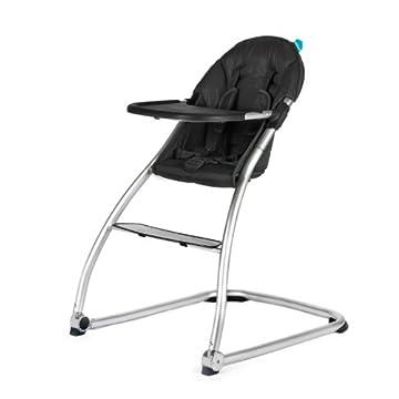 Baby Home Eat High Chair - Black