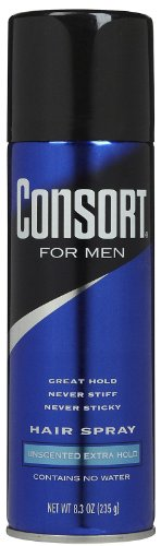 Special Pack of 5 CONSORT EXTRA HLD AERO UNSCENTED 8.3 oz